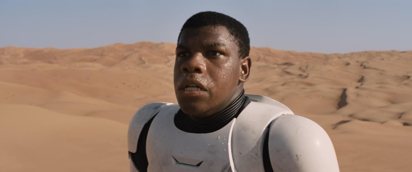 John Boyega Star Wars Force Awakens