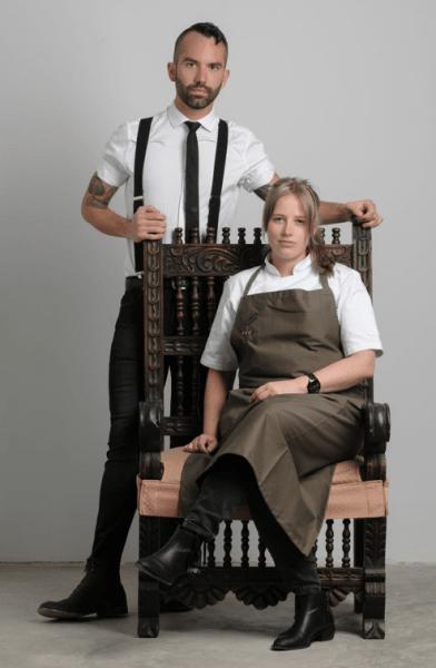 Kamilla Seidler y Claus Meyer