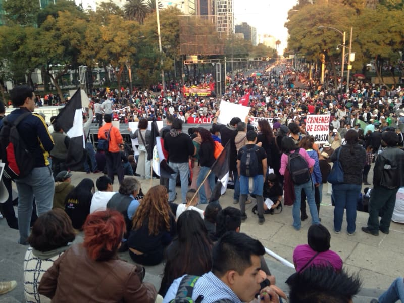 mexico protests dic 1 a