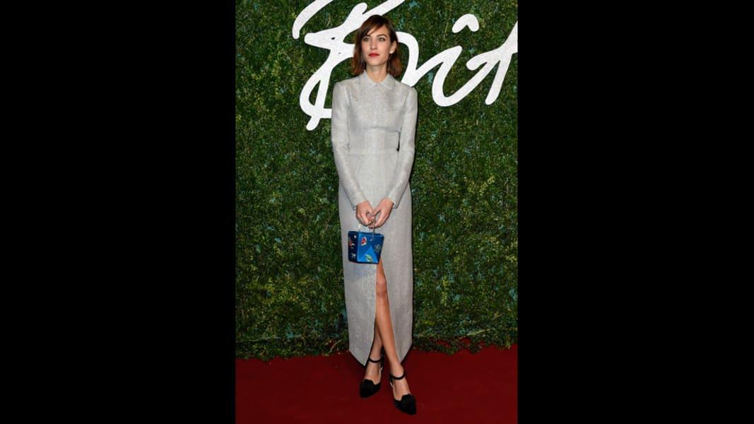 british fashion awards 2014 alexa chung