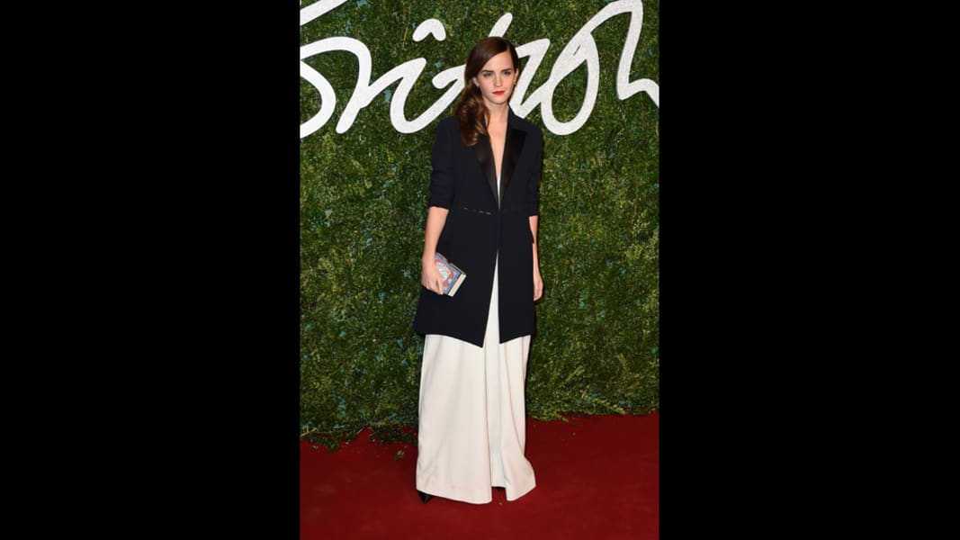 british fashion awards 2014 emma watson