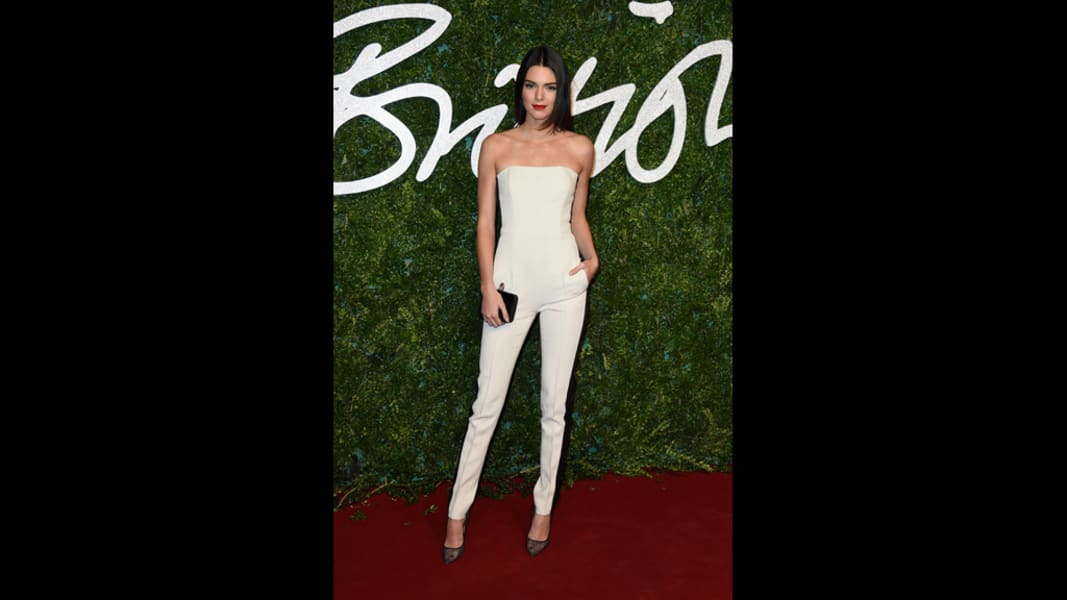 british fashion awards 2014 kendall jenner