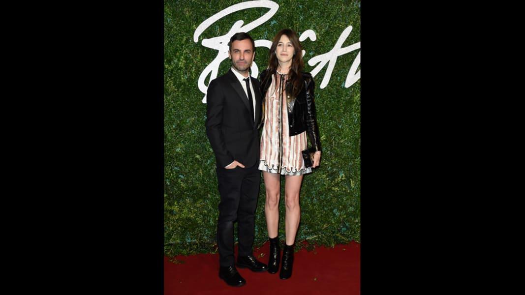 british fashion awards 2014 ghesquiere gainsbourg