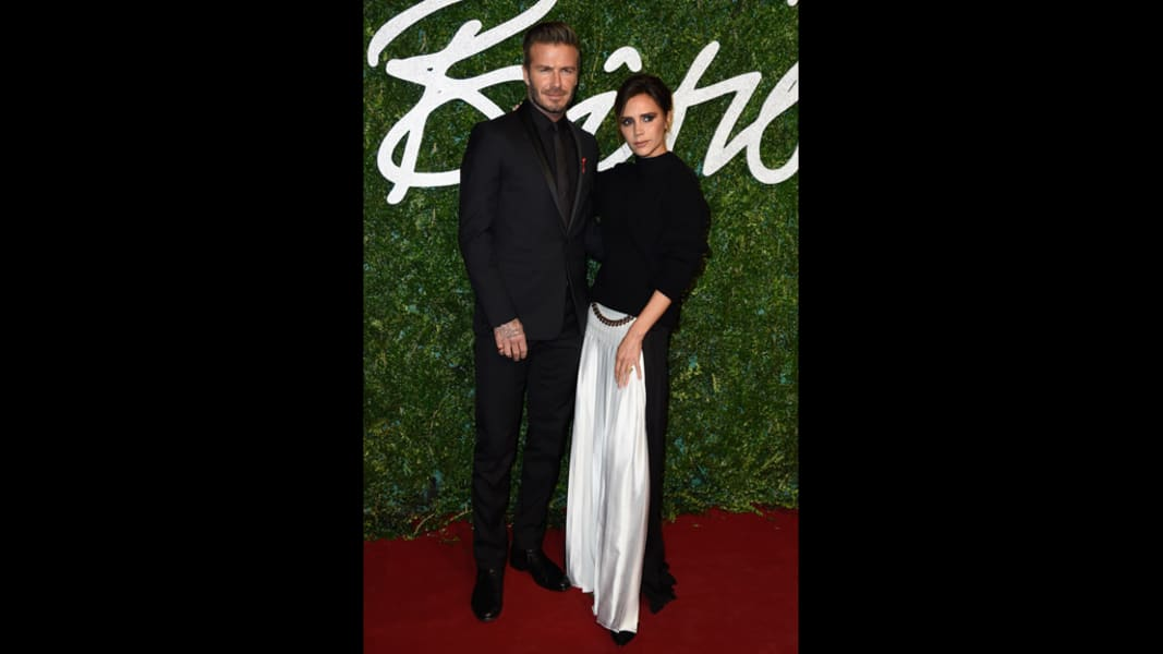 british fashion awards 2014 beckham