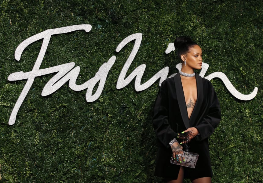 british fashion awards 2014 rihanna