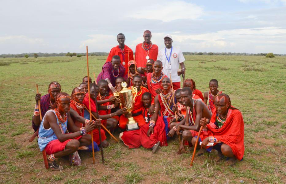 Maasi olypics winning team 2012