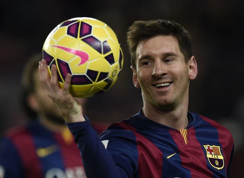 Messi hat-trick