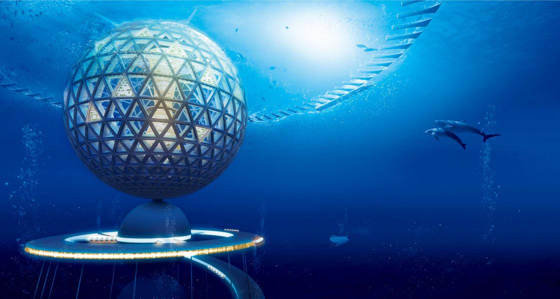 shinzu corp globe under sea