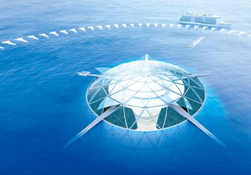 shinzu corp sea structure surface
