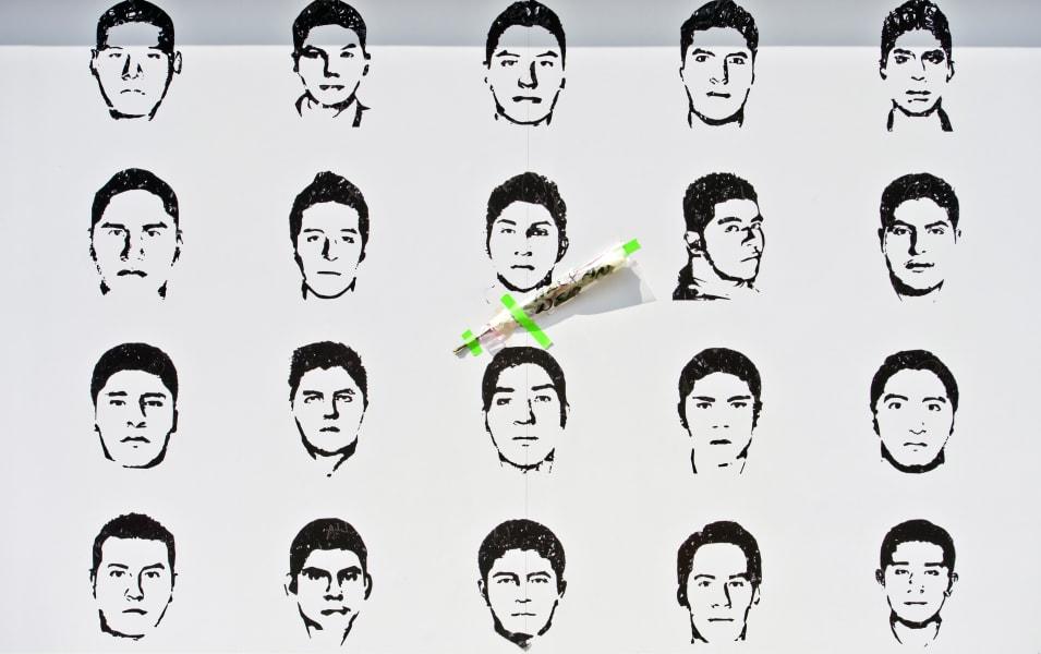 mexico students portraits Amnesty International