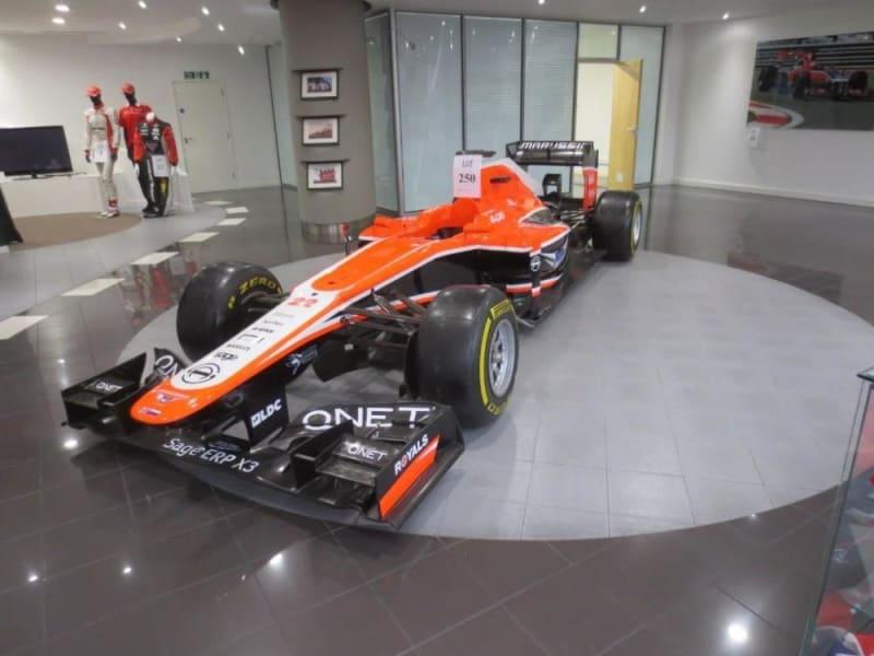marussia f1 car for sale