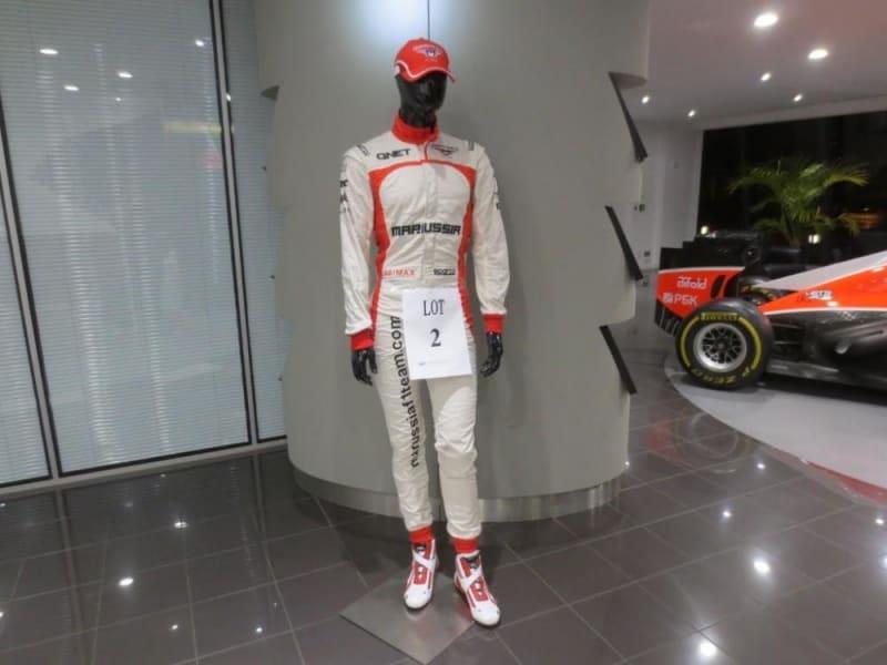 marussia race suit