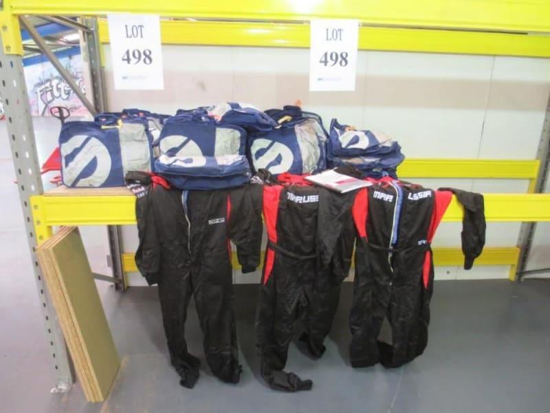 marussia pit crew overalls
