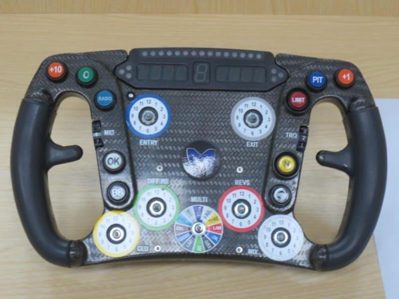 marussia steering wheel