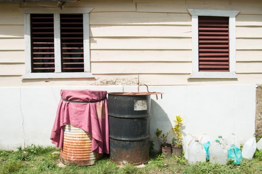 Chikungunya breeding sites