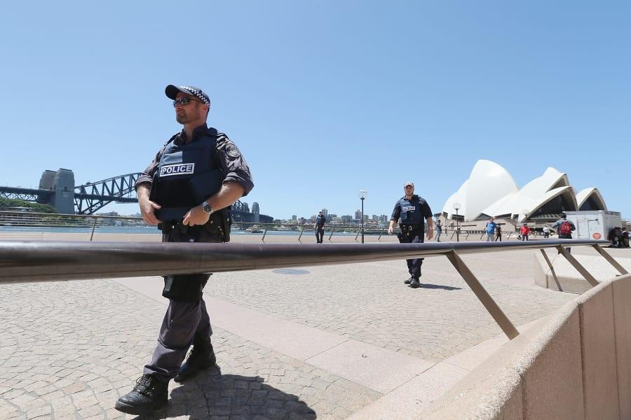 12 sydney police
