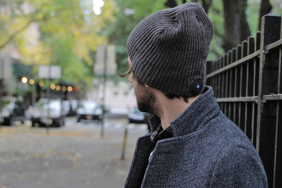 wearable tech 1V beanie