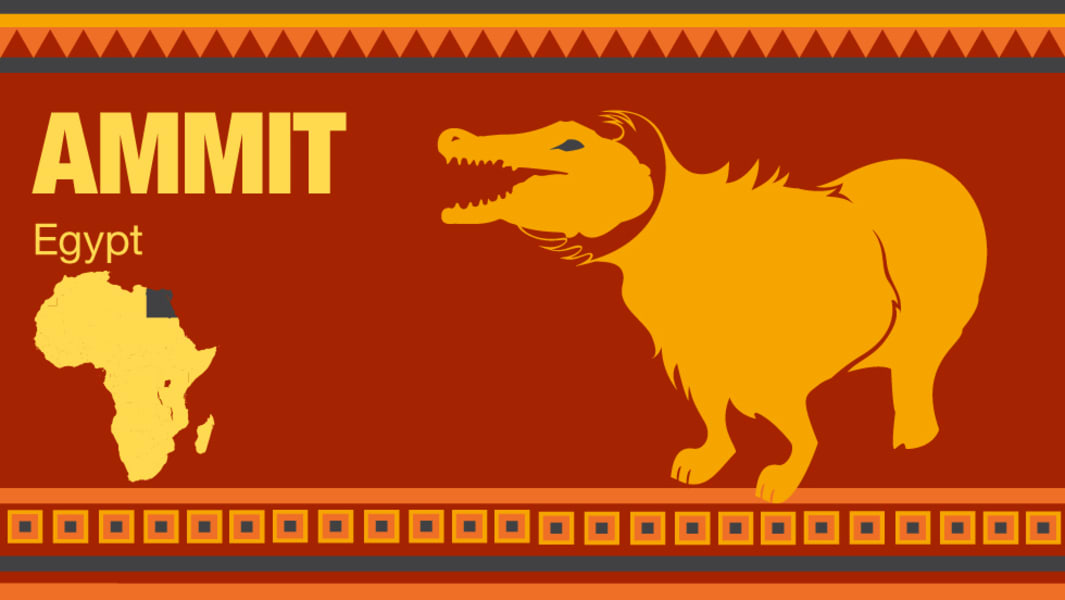 africa monsters ammit