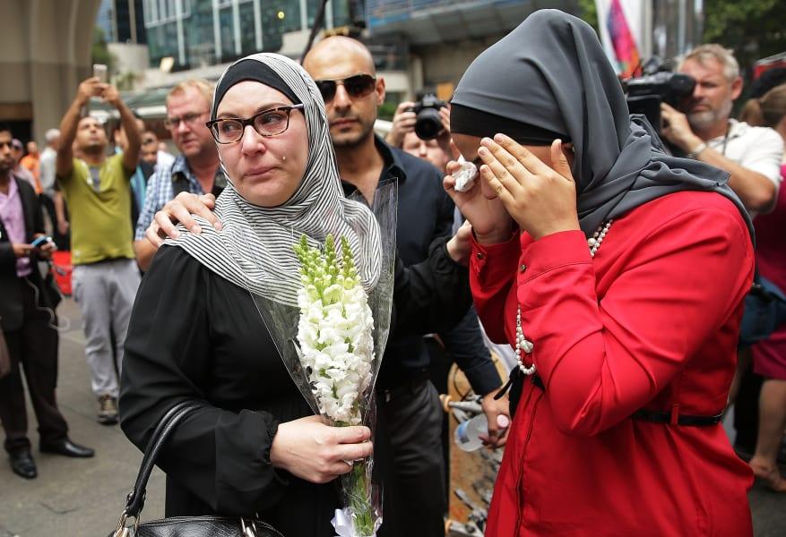 sydney muslim grief