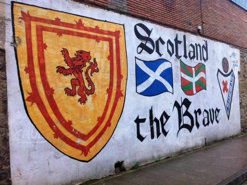 Eibar Scotland the Brave