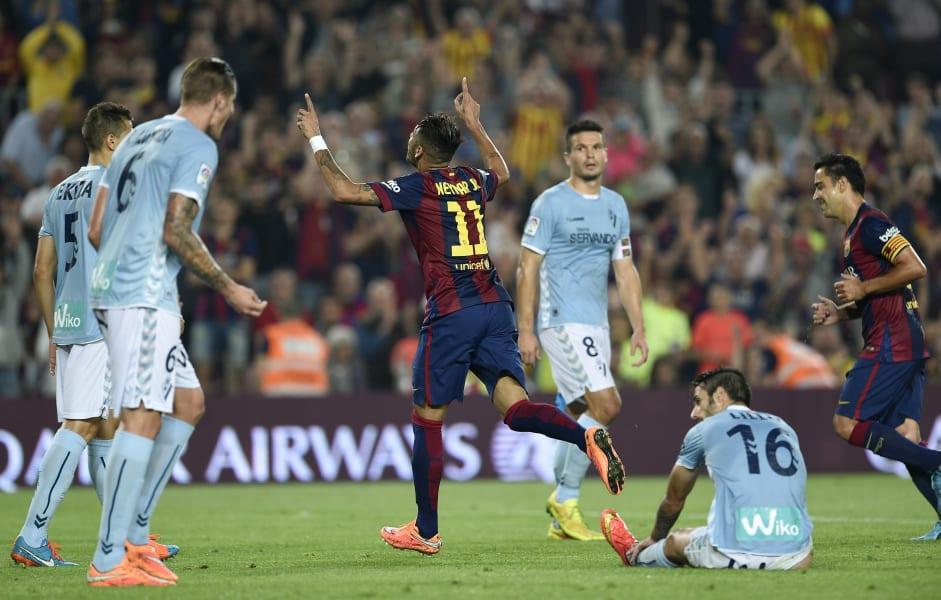 Eibar Barcelona Neymar