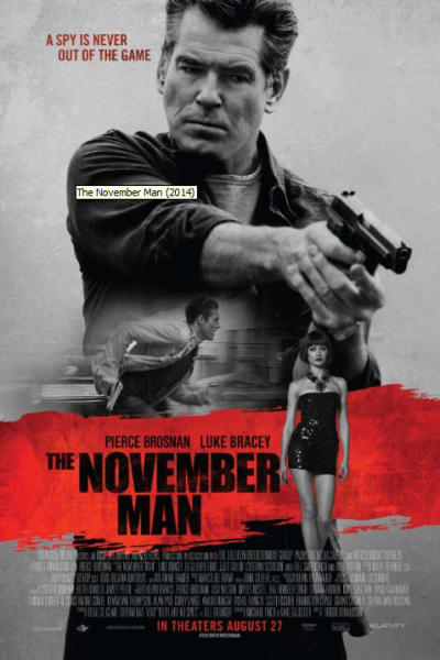 the november man poster on the road serbia