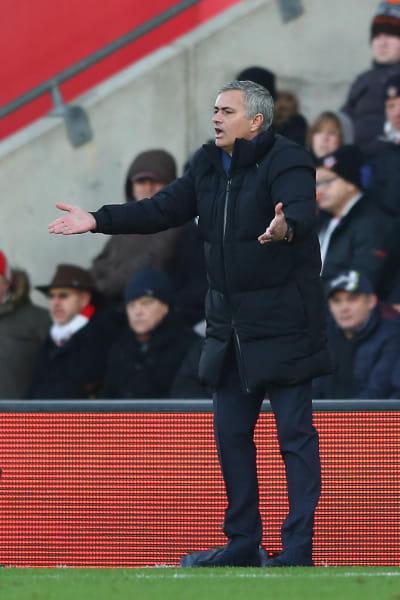 Mourinho frustration