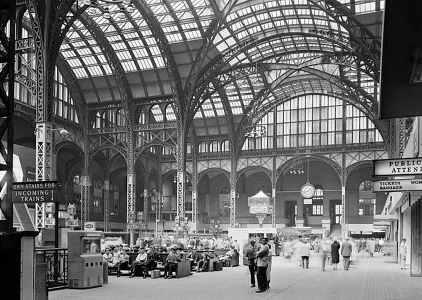 attractiions penn stations
