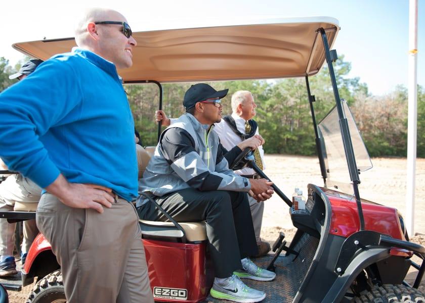 Tiger Woods Bluejack 3
