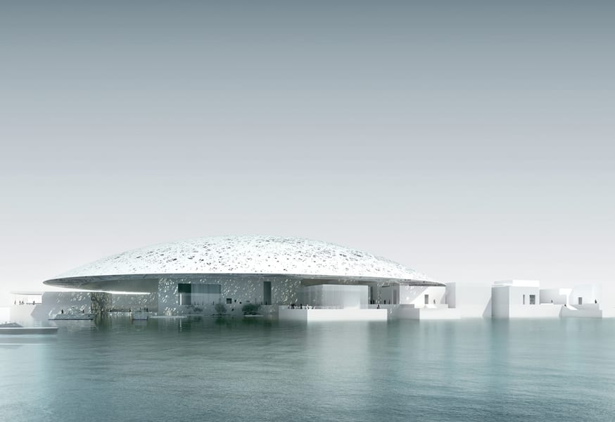 arch louvre abu dhabi ext