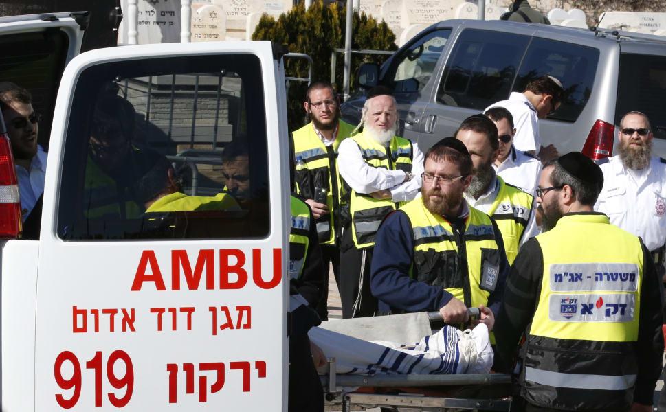 Israel funeral 9