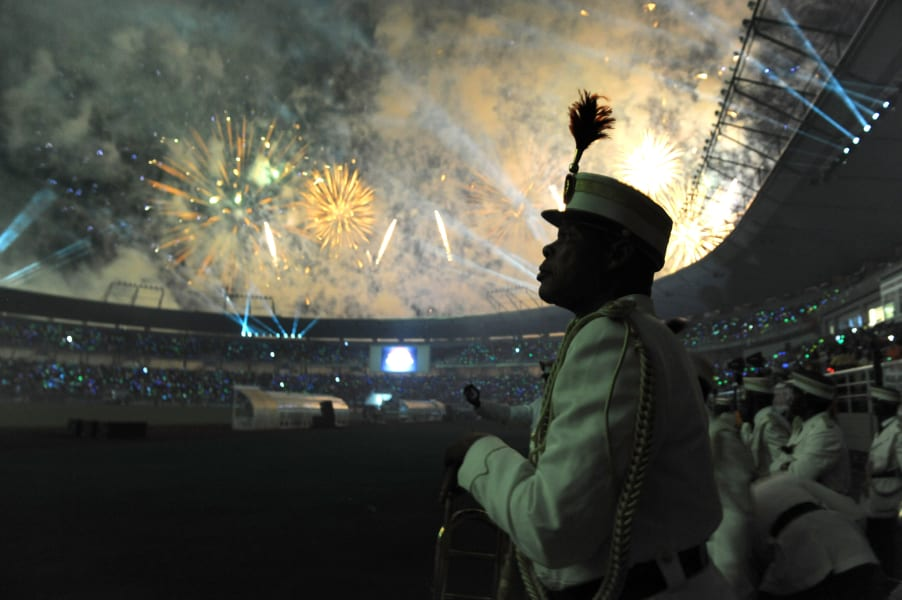 2012 Africa Cup of Nations ceremony