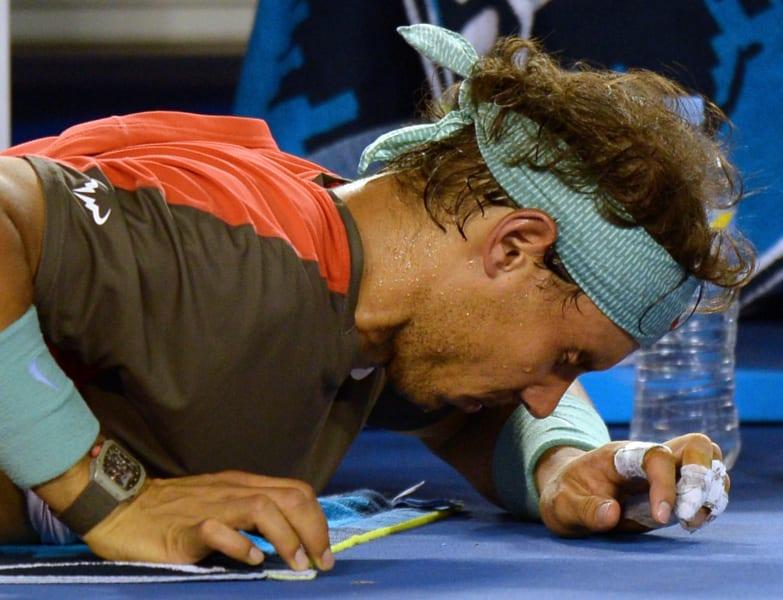Nadal pain Melbourne