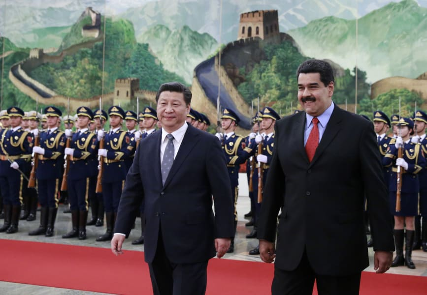 getty venezuelan president nicolas maduro meets with xi jinping