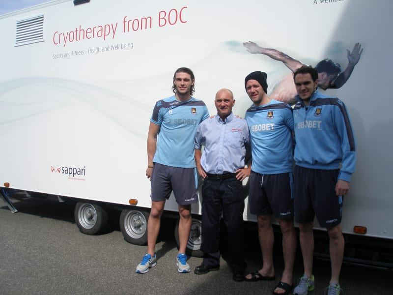 west ham cryotherapy