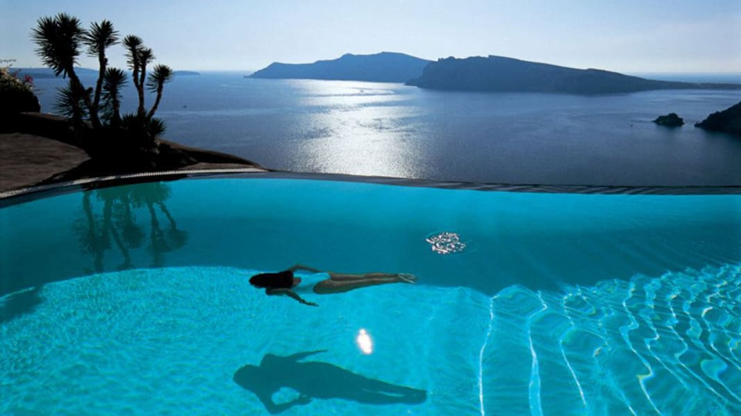 hotel pools Perivolas