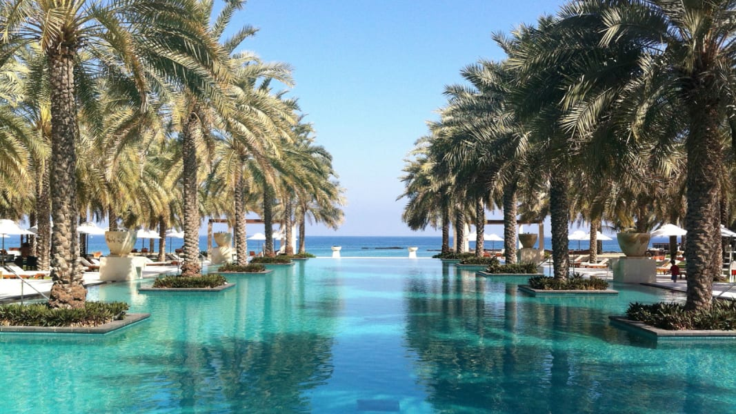hotel pools al bustan