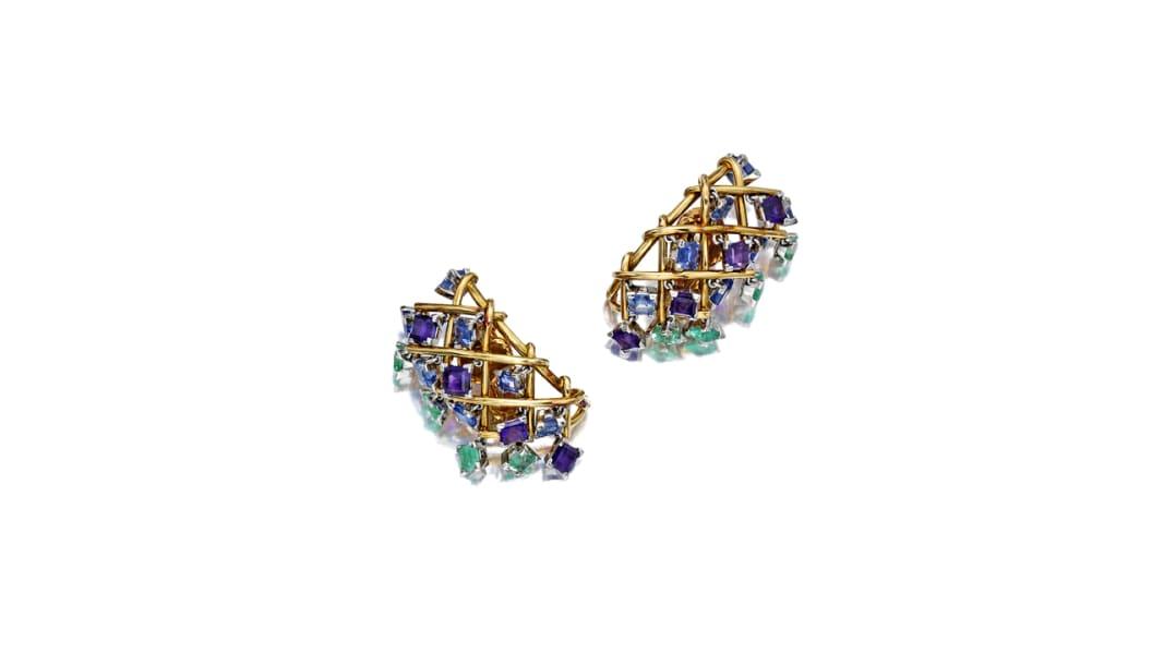 lauren bacall earrings