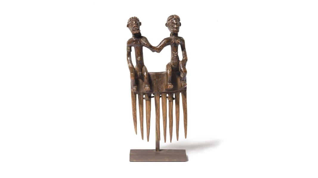 lauren bacall art collection tribal