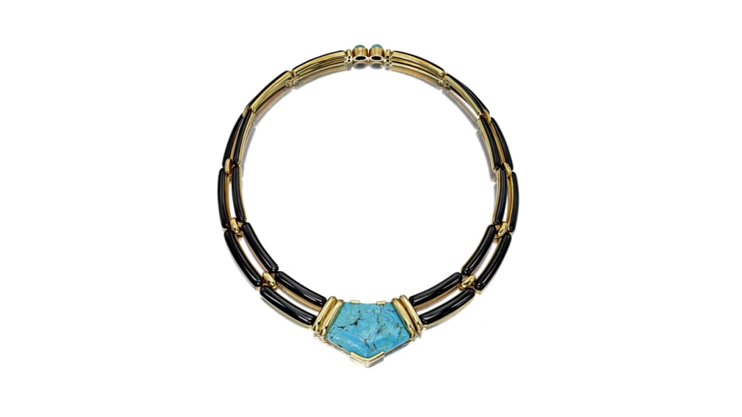 lauren bacall art collection necklace