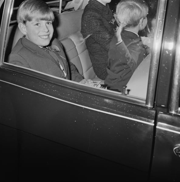 prince andrew car 1969