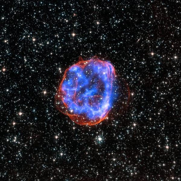SNR E0519-69.0 NASA Chandra xray