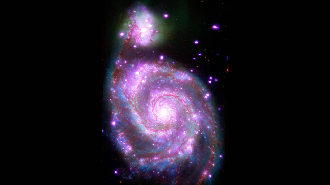X-ray M51 NASA chandra