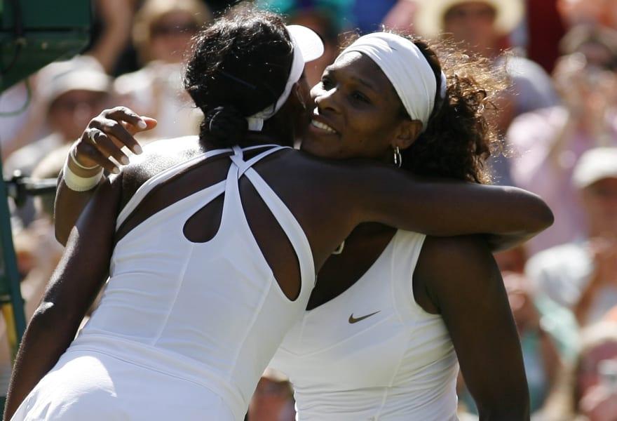 Venus Serena 2009 Wimbledon