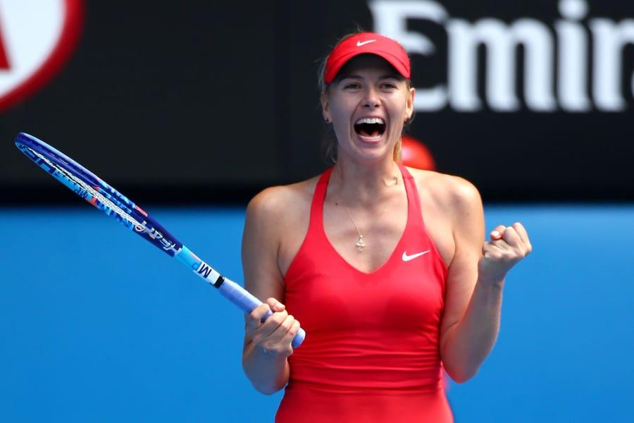 Sharapova smile