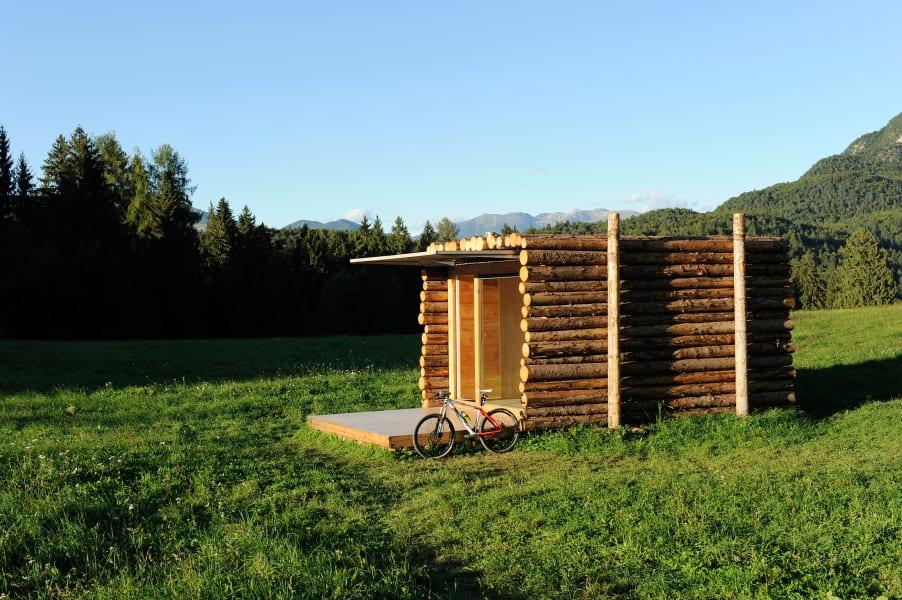 mobile architecture log cabin