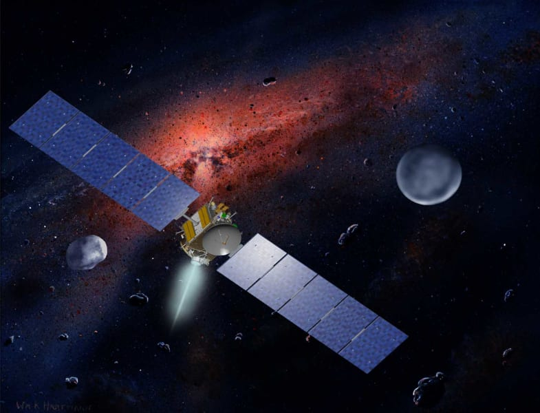 Ceres vesta concept nasa dawn mission