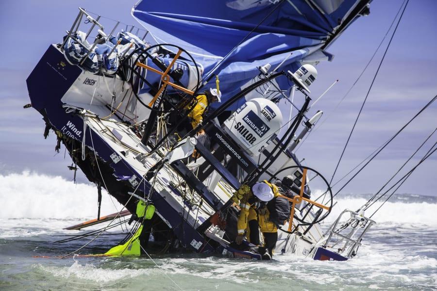 volvo ocean race wreck