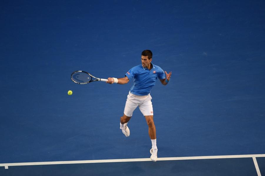 Djokovic Battles Past Murray