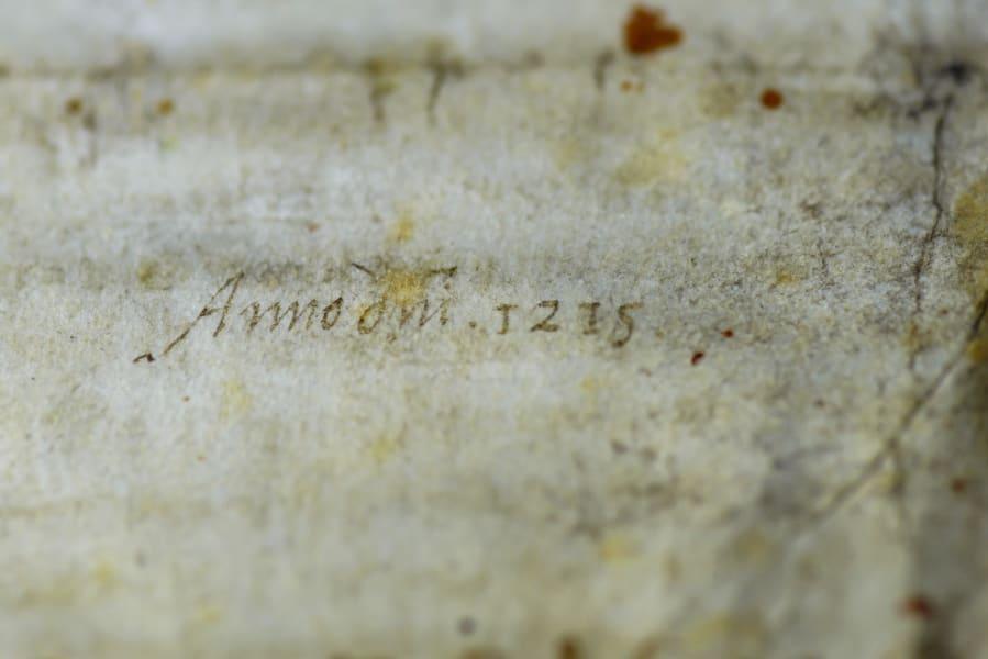 Magna Carta Salisbury Cathedral date